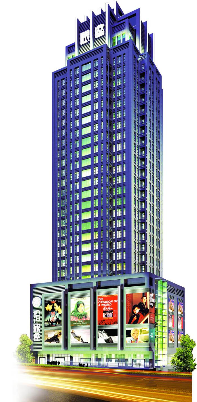 贵阳CID.银座商务楼项目